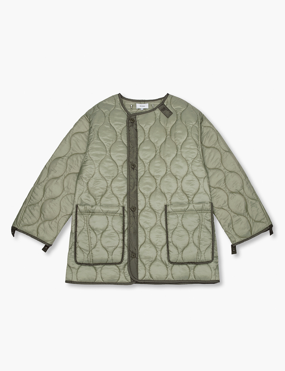 QUILTED JACKET (OLIVE DRAB)