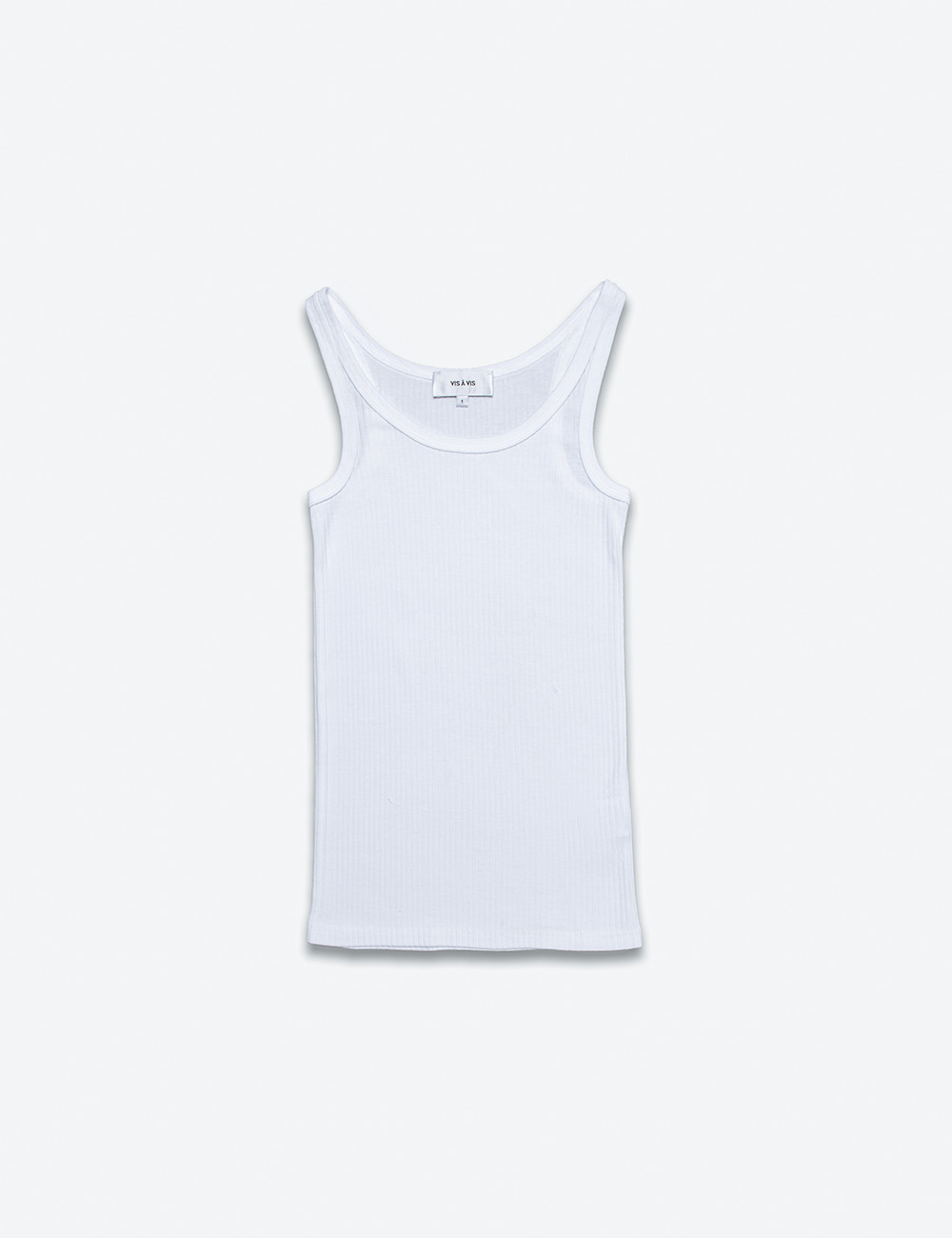 BROAD STITCH RIB TANK TOP