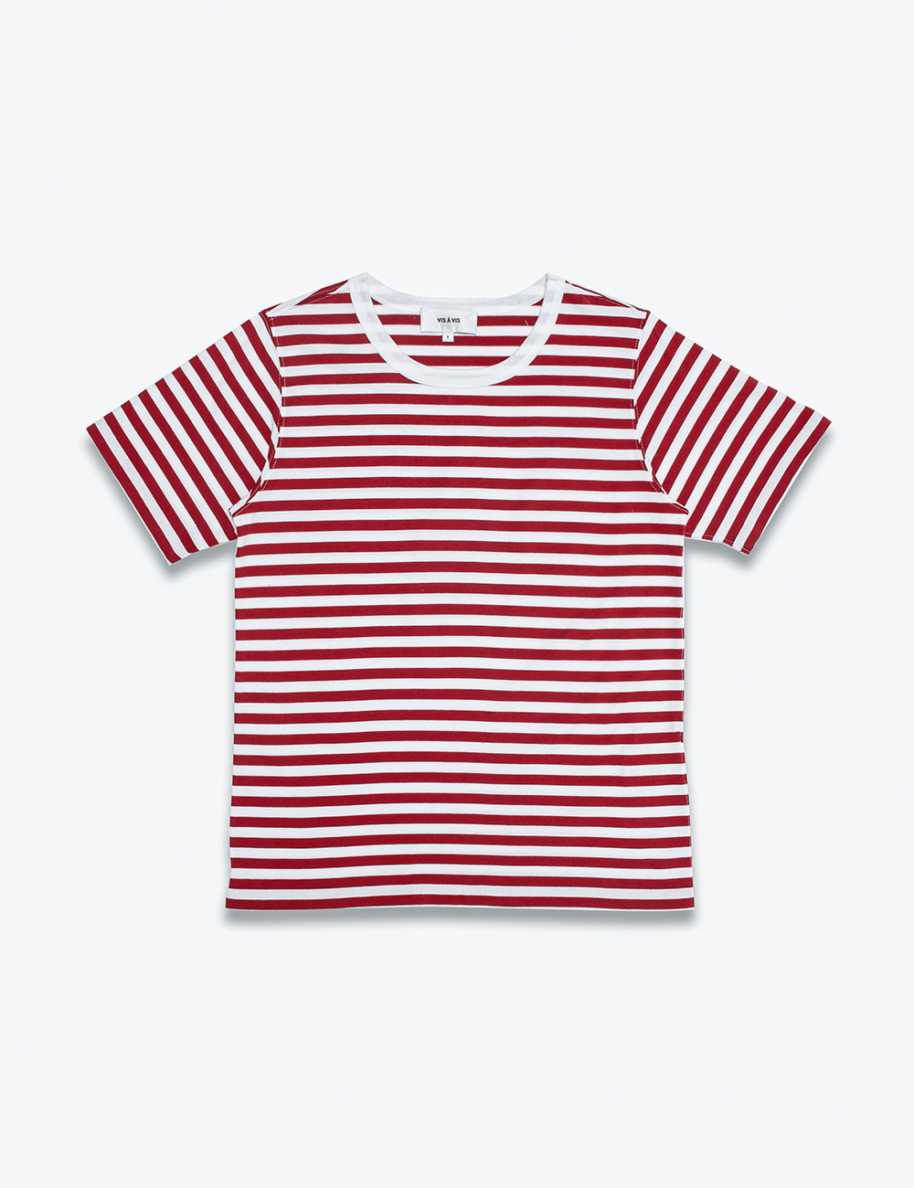 SHORT SLEEVE STRIPED TEE