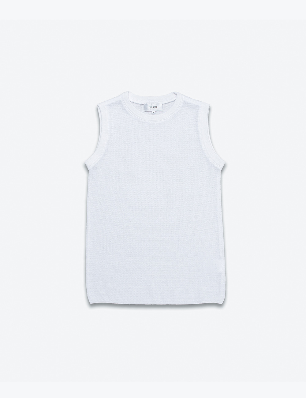 MUSCLE TANK TOP (WHITE)