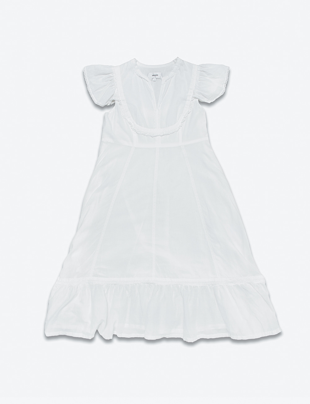 CAP SLEEVE SOFT WASHED DRESS