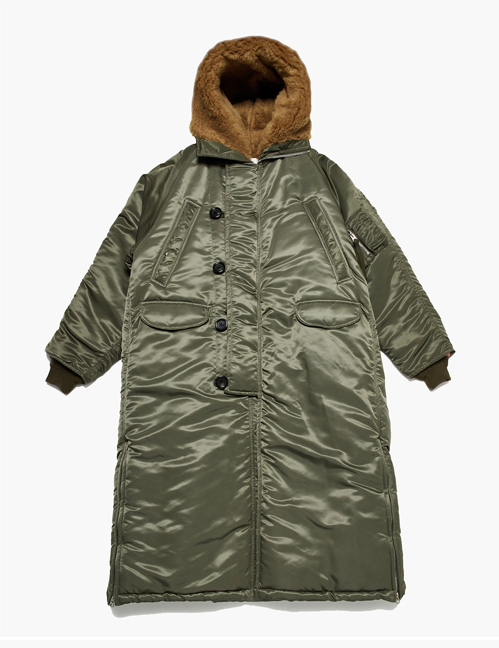 N3-B FAUX FUR LINED PARKA (LONG)