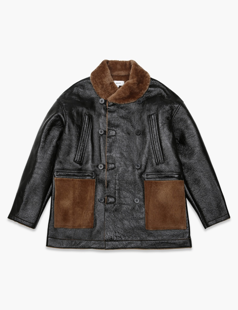 SHEARLING MACKINAW COAT