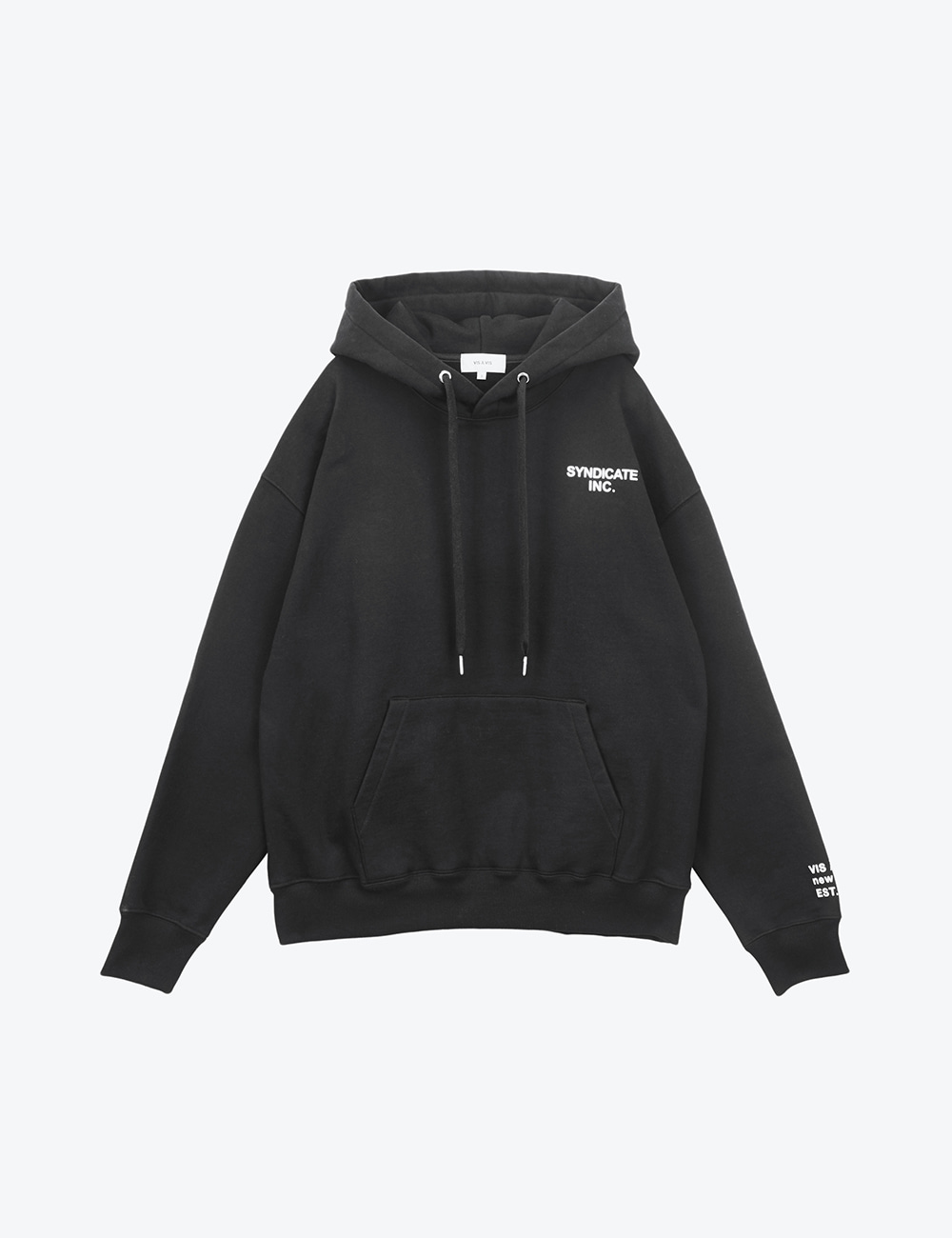 SYNDICATE UNISEX HOODED SWEATSHIRT (BLACK)