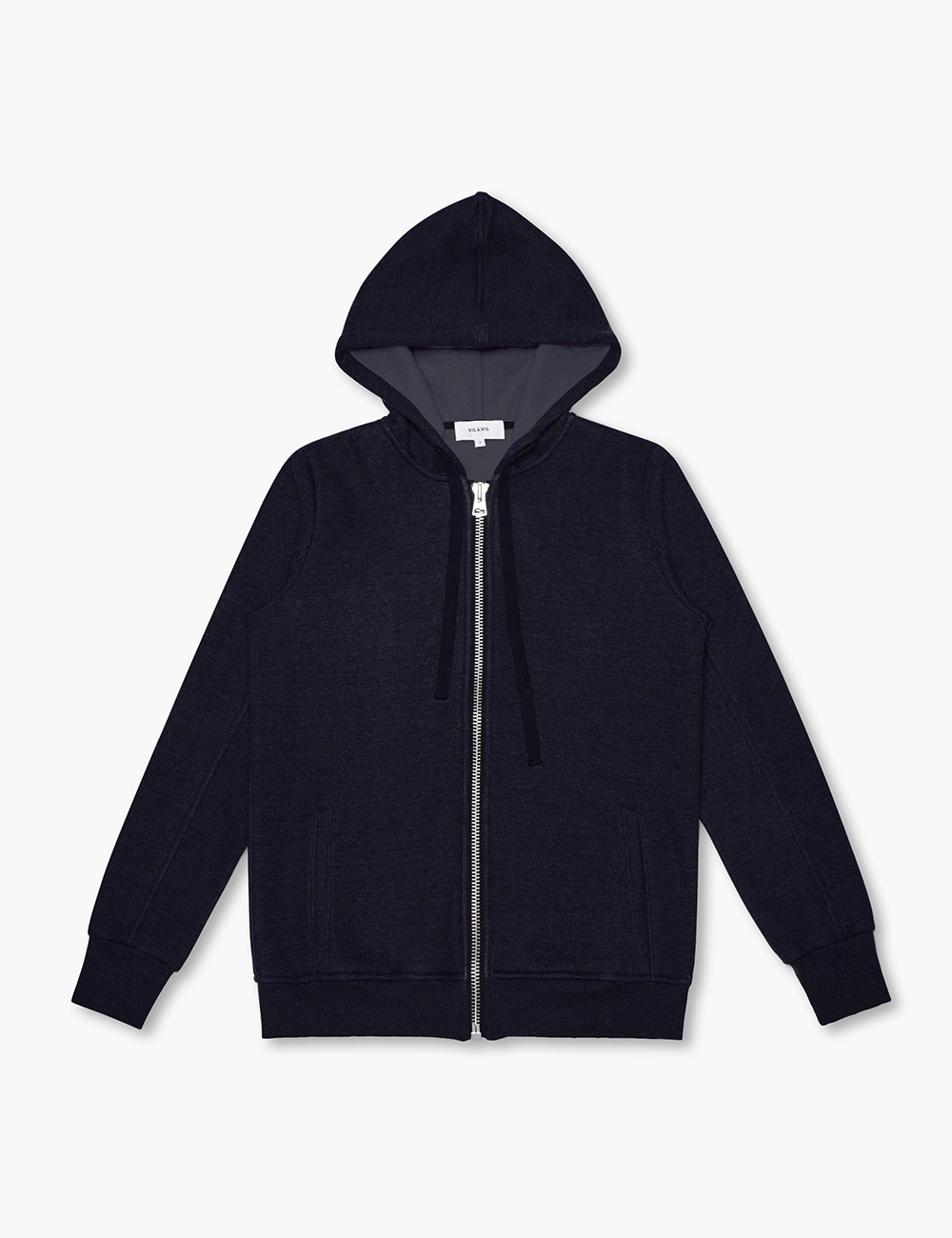 FLEECE HOODY (NAVY)